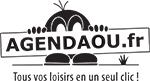 Logo-Agendaou-Bonhomme-PlusTexte-N&B